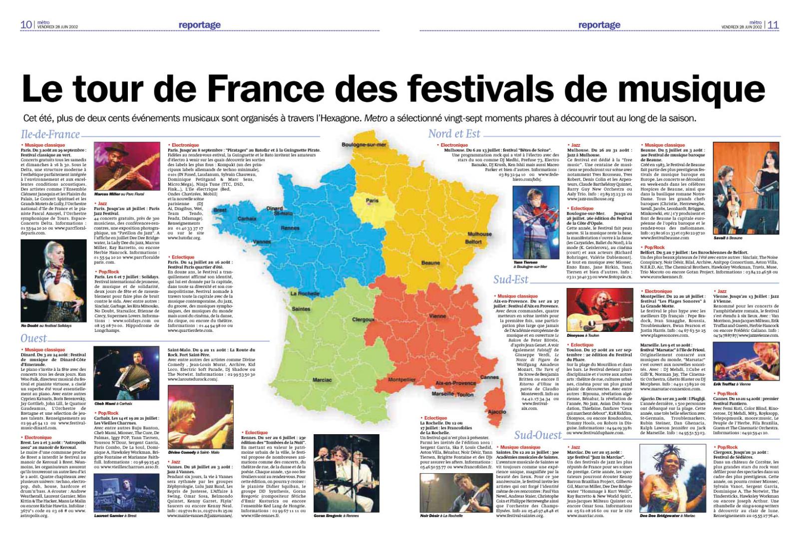 Festival du Phare  | Toulon | 2002 | Revue de presse Festival du Phare  | Toulon | 2002 | Revue de presse banes jean vincent toulon metreo culture digitale