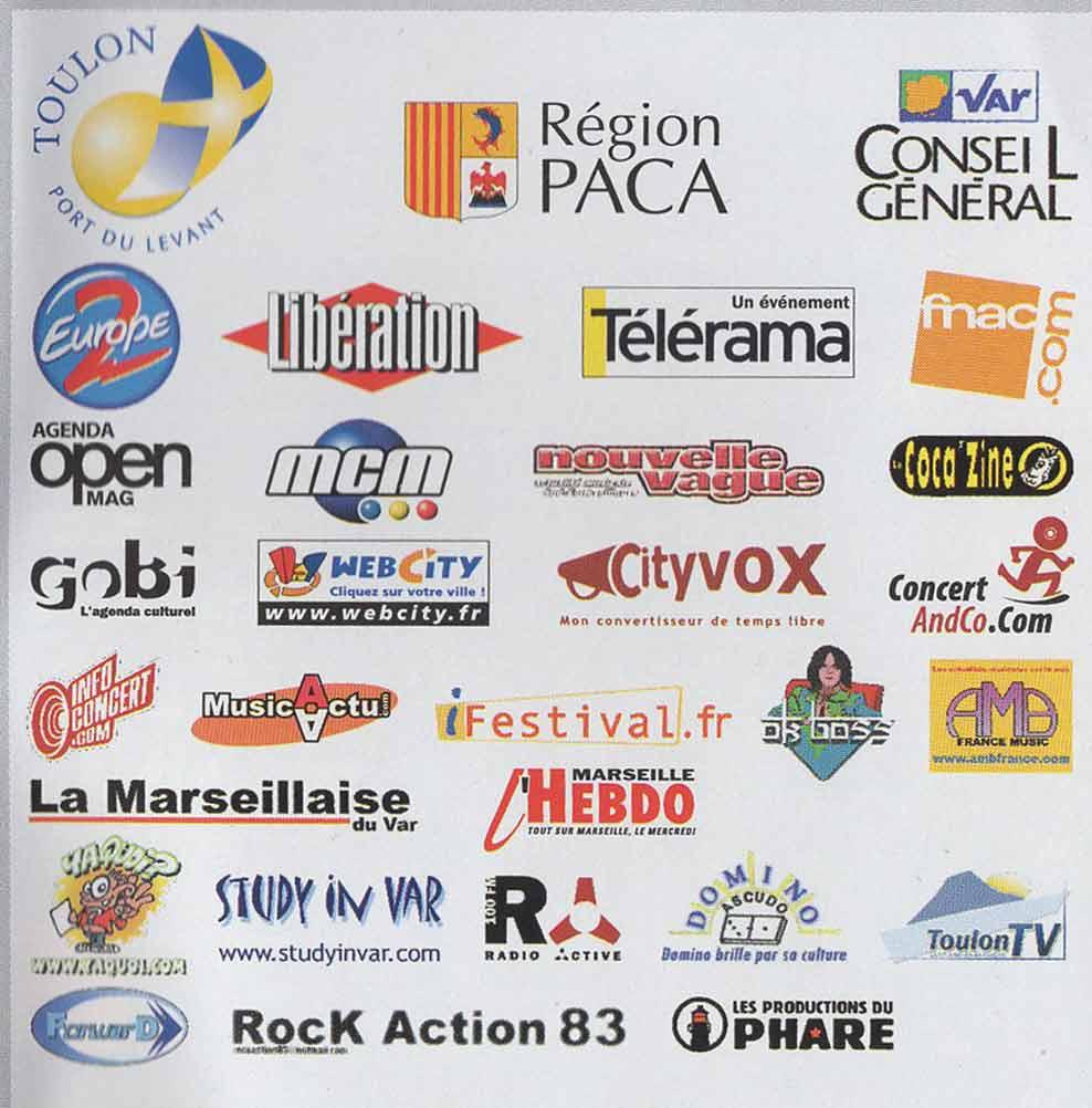 Festival du Phare  | Toulon | 2002 | Revue de presse Festival du Phare  | Toulon | 2002 | Revue de presse partenaires fetsival du phare 2003 toulon banes jean vincent www