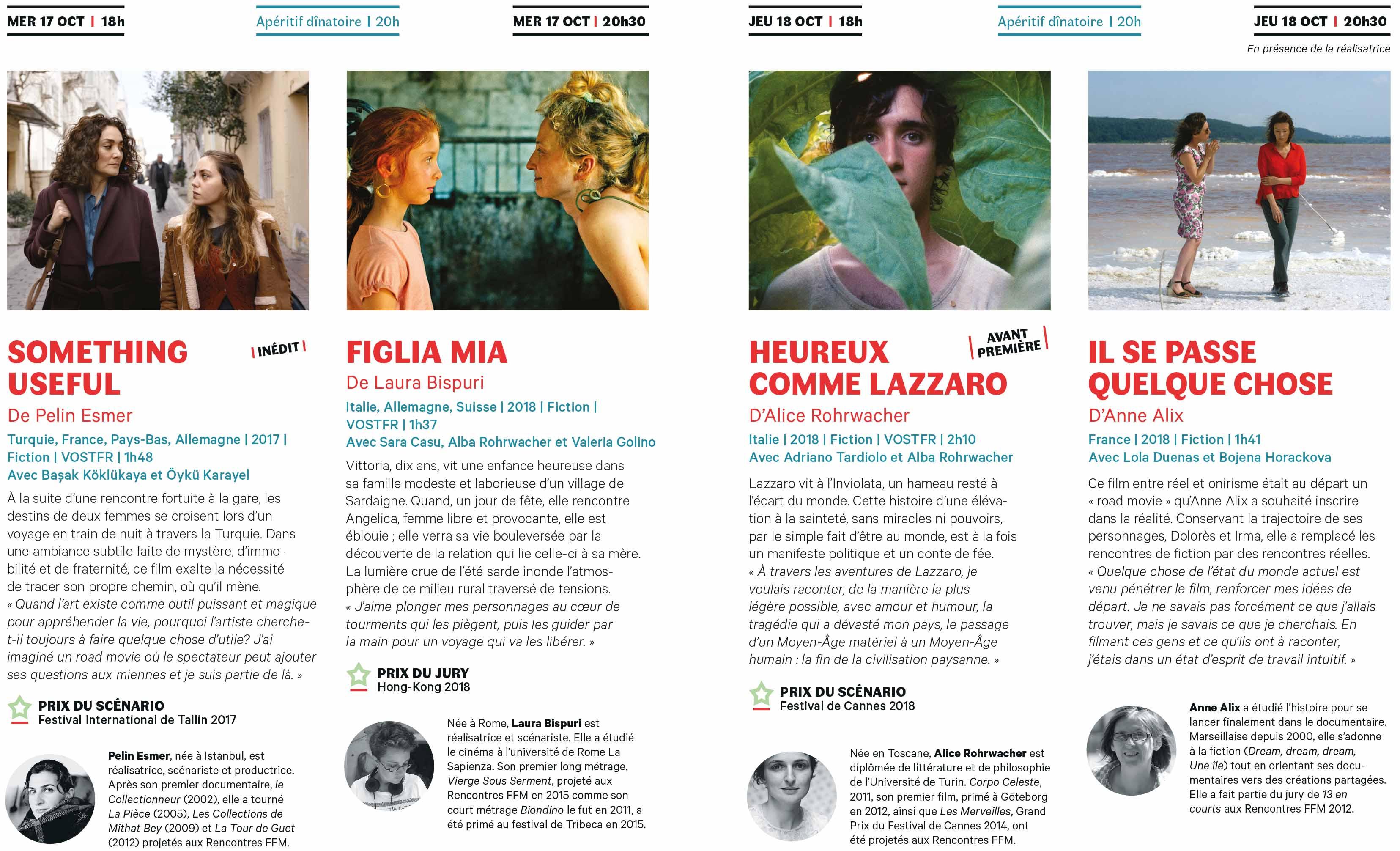 Rencontres Films Femmes Méditerranée | Hyères | 17 - 19 octobre 2018 Rencontres Films Femmes Méditerranée | Hyères | 17 – 19 octobre 2018 depliant hyeres ffm2018 hyeres 2