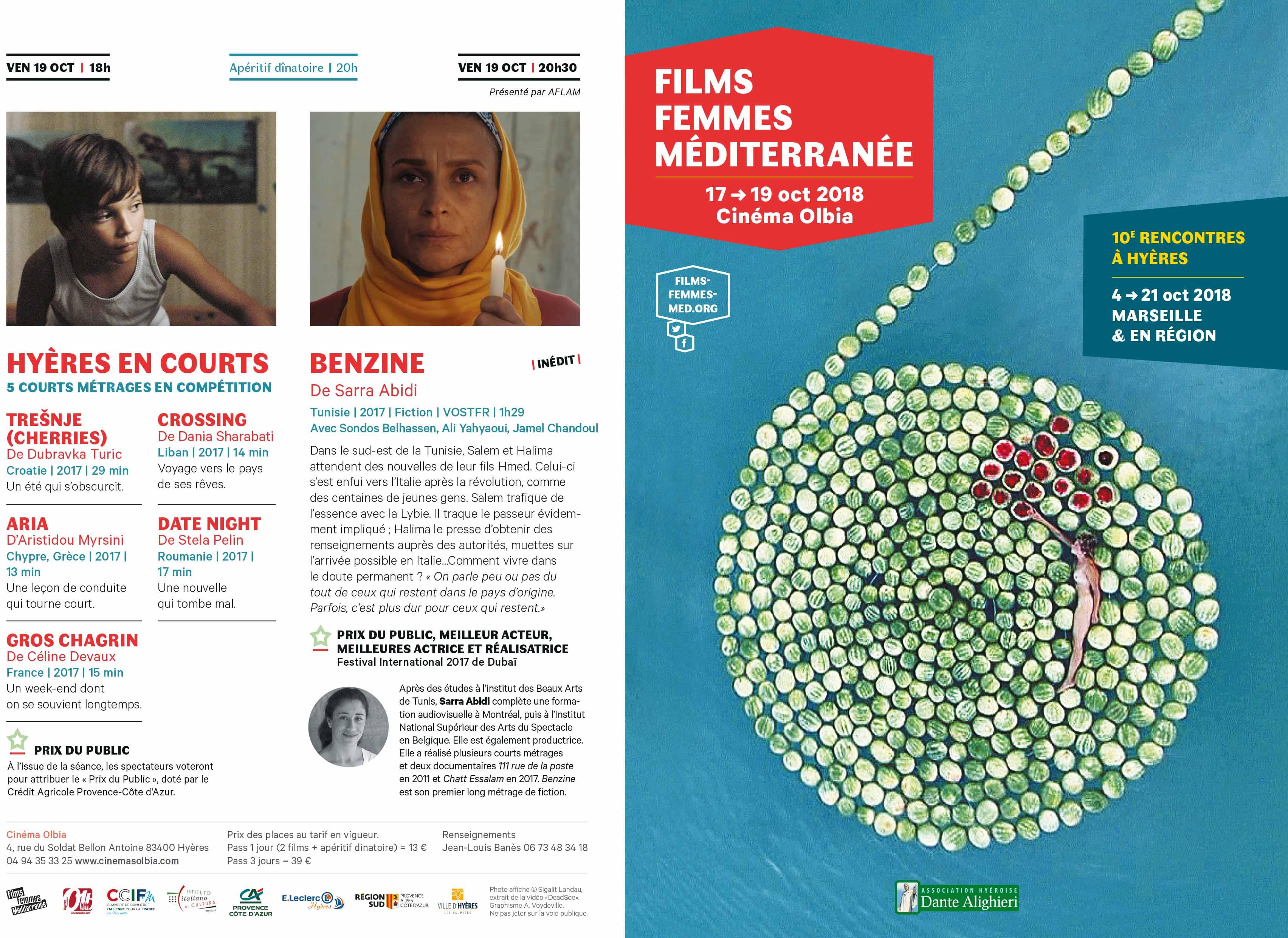 Rencontres Films Femmes Méditerranée | Hyères | 17 - 19 octobre 2018 Rencontres Films Femmes Méditerranée | Hyères | 17 – 19 octobre 2018 depliant hyeres ffm2018 hyeres