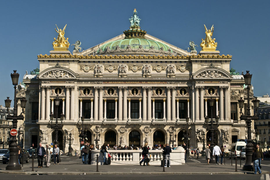 L'Opéra national de Paris veut lancer son « Académie digitale » L'Opéra national de Paris veut lancer son « Académie digitale » palais garnier opera paris