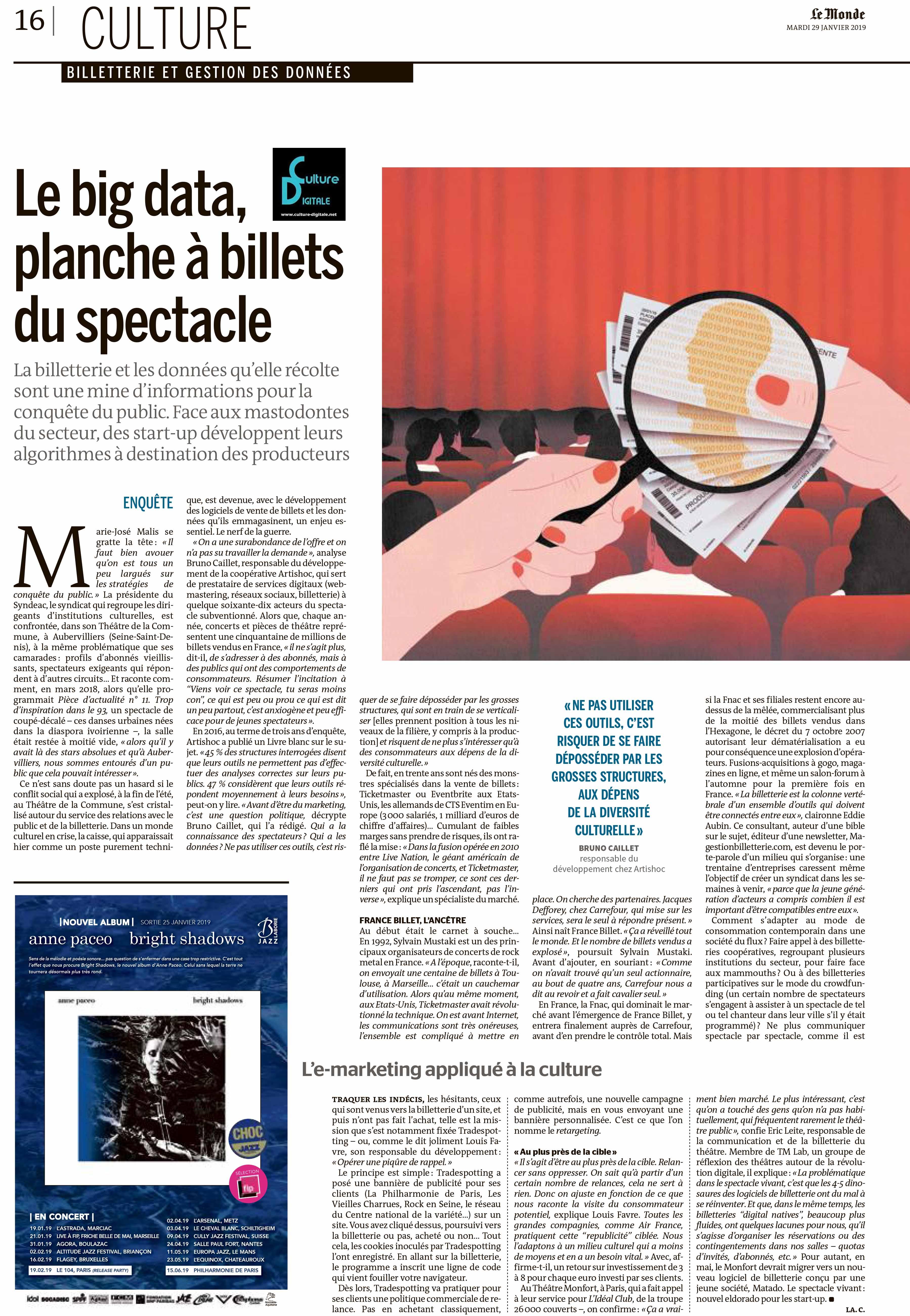 Le big data, planche à billet du spectacle Le big data, planche à billet du spectacle 1 le big data planche billet du spectacle www