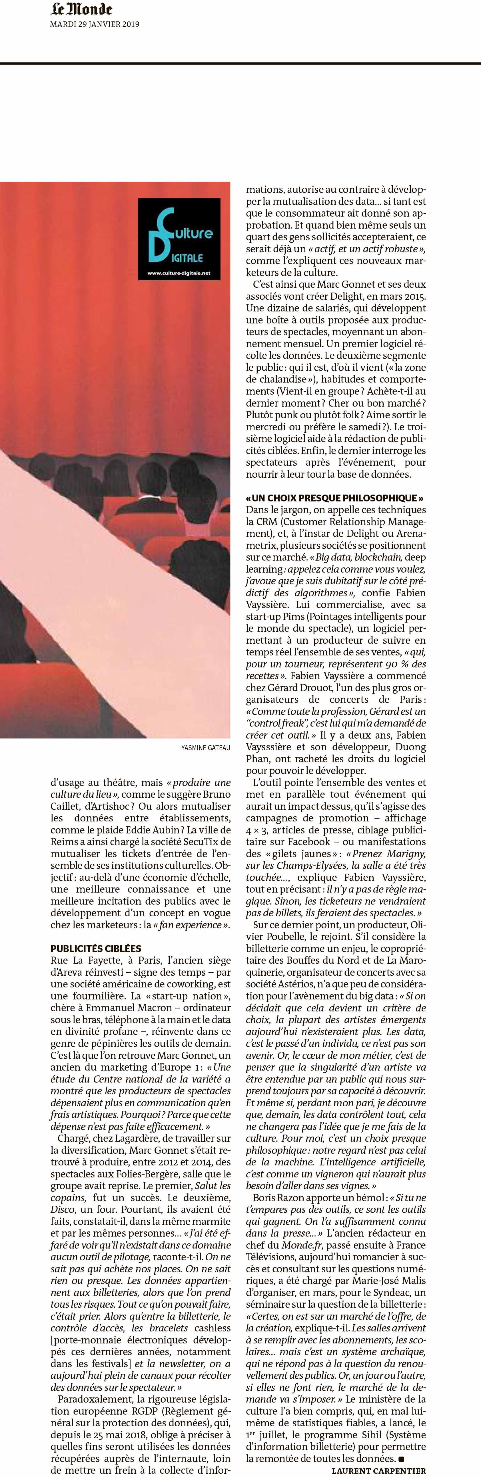 Le big data, planche à billet du spectacle Le big data, planche à billet du spectacle 2 le big data planche billet du spectacle www
