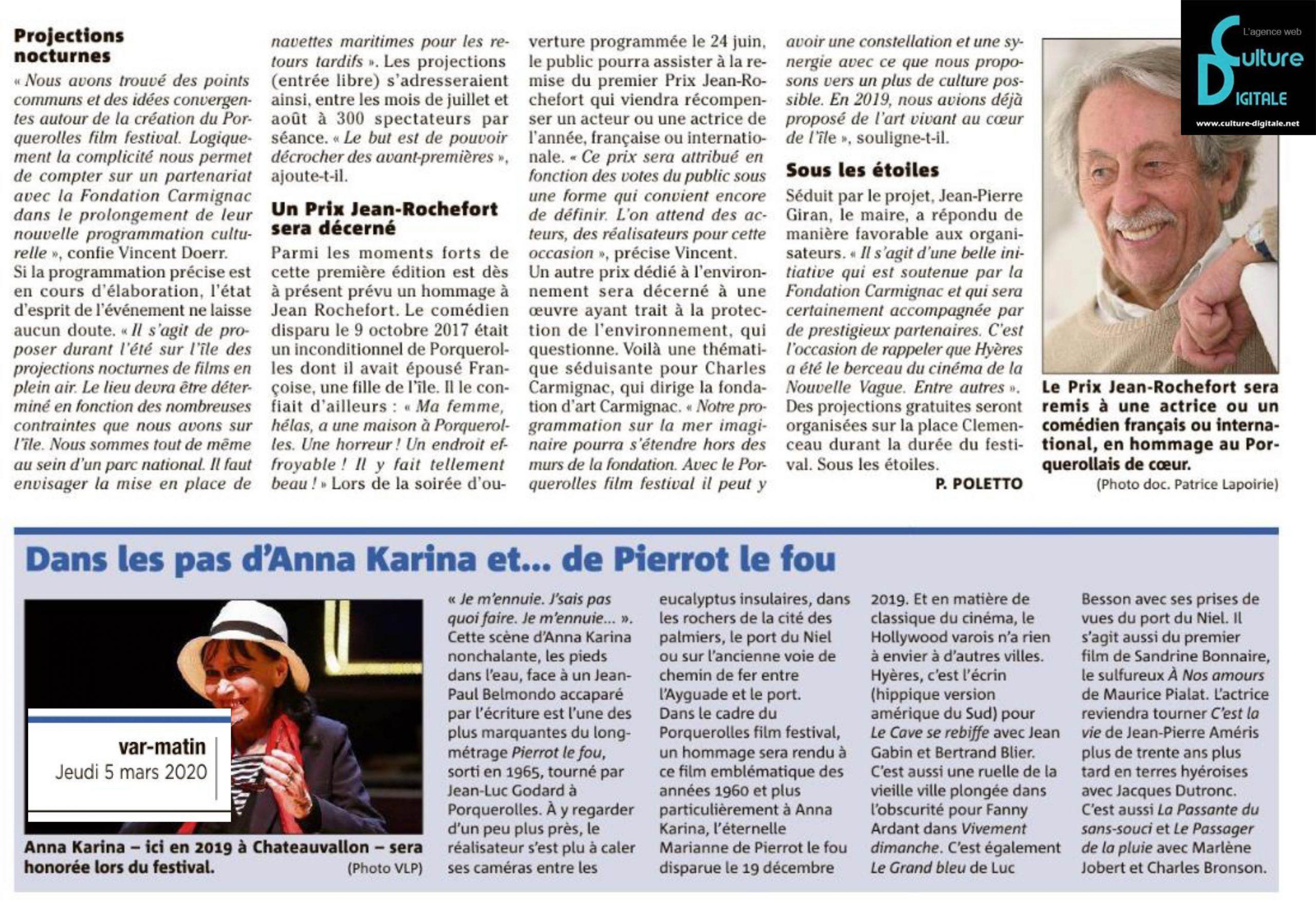 porquerolles film festival - fondation - carmignac hyères - agence culture digitale - agence web pour la culture www.culture-digitale.net Porquerolles Film Festival – Fondation Carmignac – Hyeres porquerolles film festival fondation carmignac www